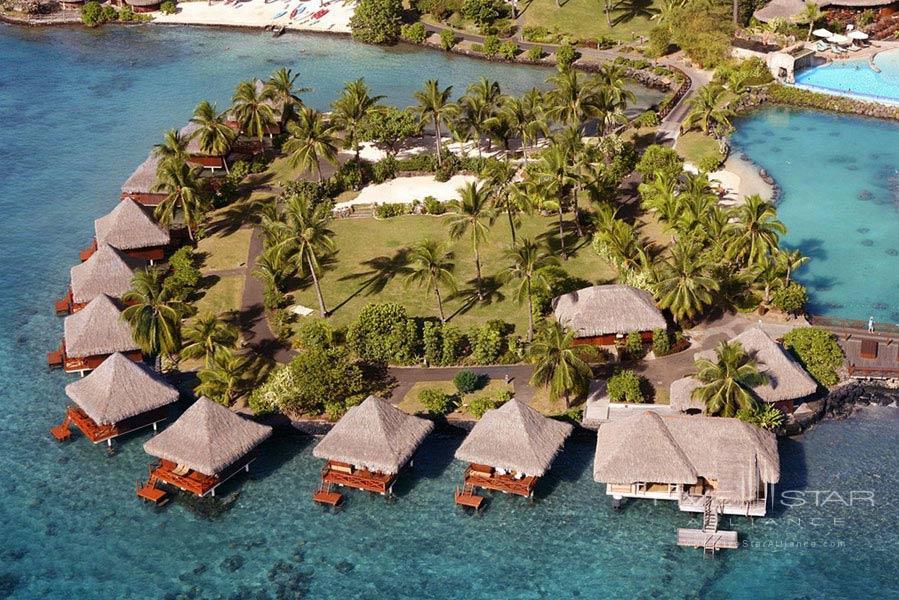 Over water Villas at InterContinental Resort TahitiPapeete