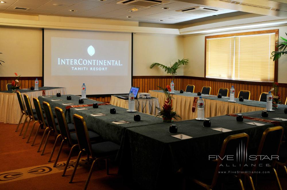 Meeting Room at InterContinental Resort Tahiti, Papeete