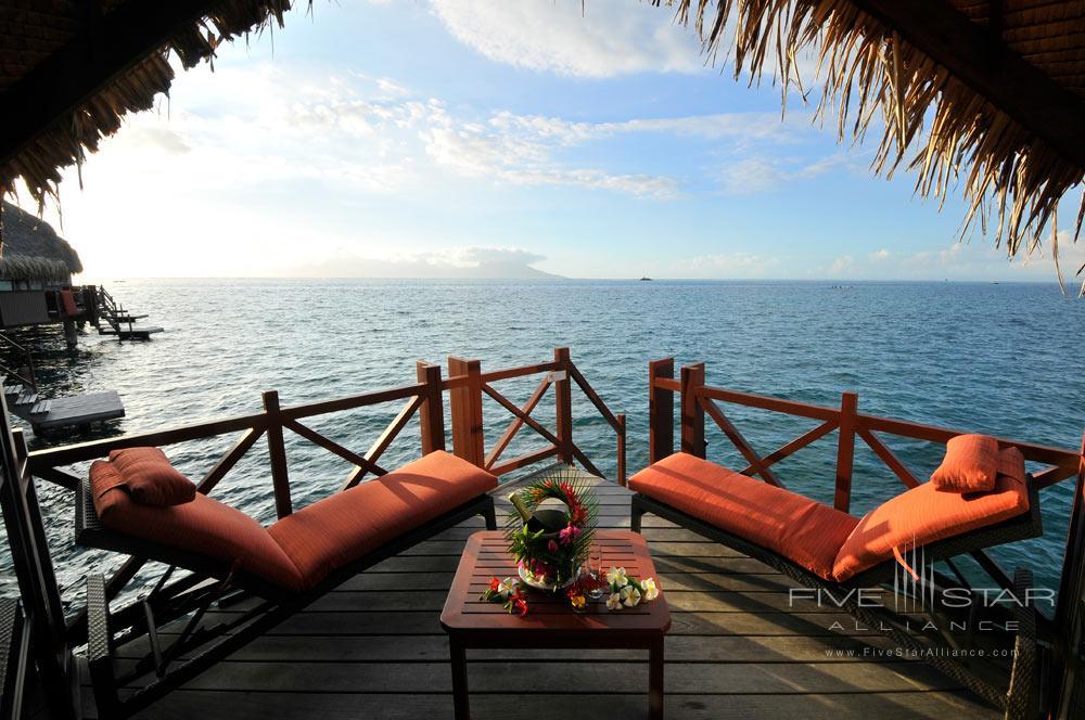 Terrace Lounge at InterContinental Resort TahitiPapeete
