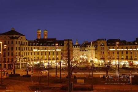 View from Hotel Konigshof