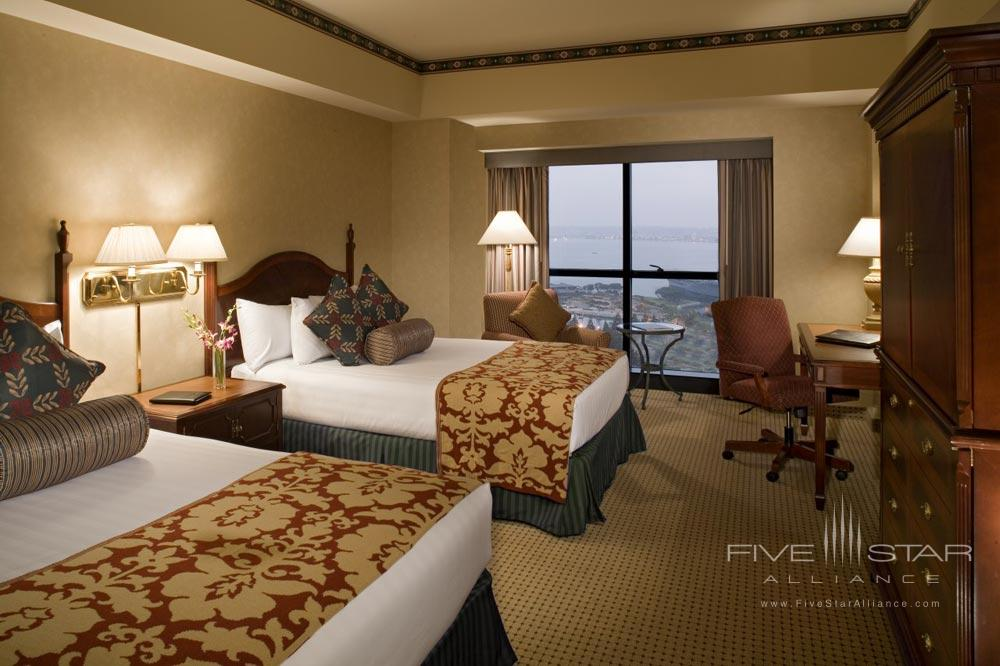 Double Guest Room at Manchester Hyatt San Diego