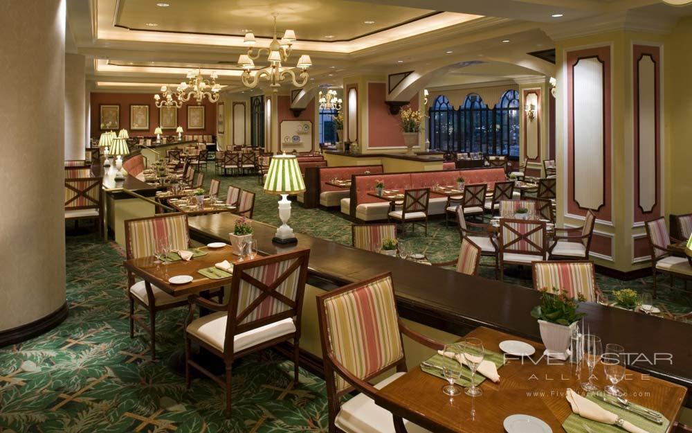 Interior of Restaurant at Manchester Hyatt San Diego