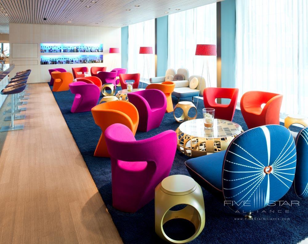 Lobby at Radisson Blu Hotel Lucerne