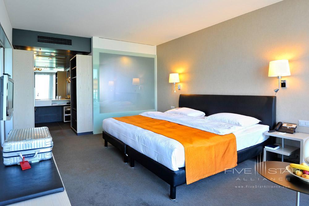 Guest Room at Radisson Blu Hotel Lucerne