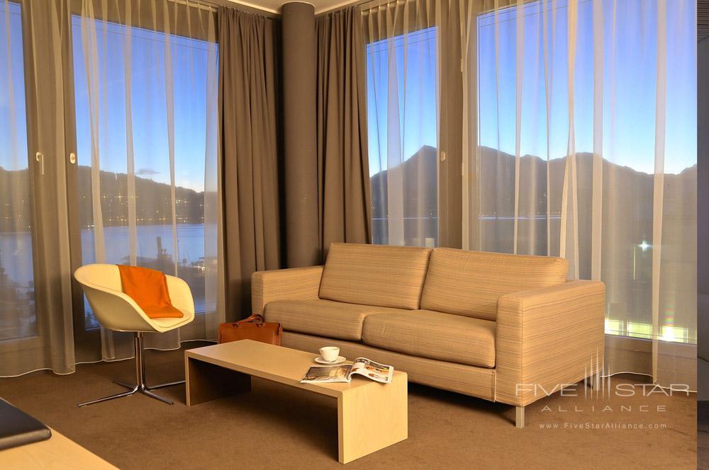 Suite at Radisson Blu Hotel Lucerne