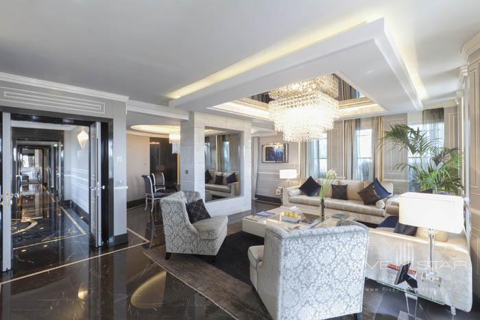Regina Hotel Baglioni Roman Penthouse Living Area