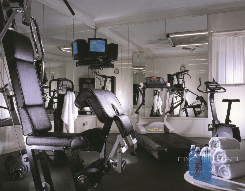 Fitness center at Grand Hotel de la MinerveRome Italy
