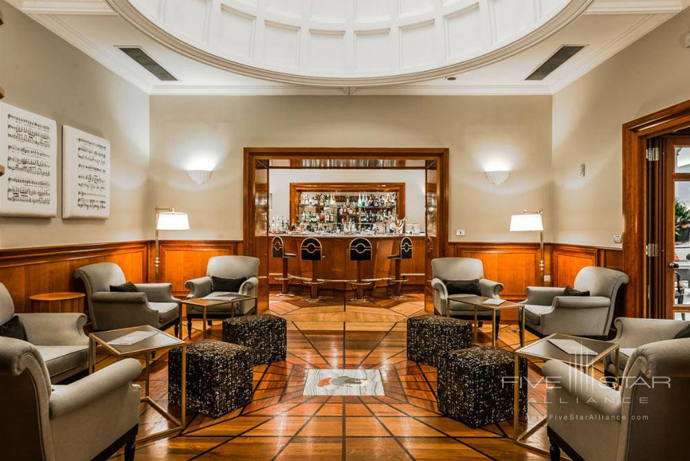 Bar at Grand Hotel de la MinerveRome Italy