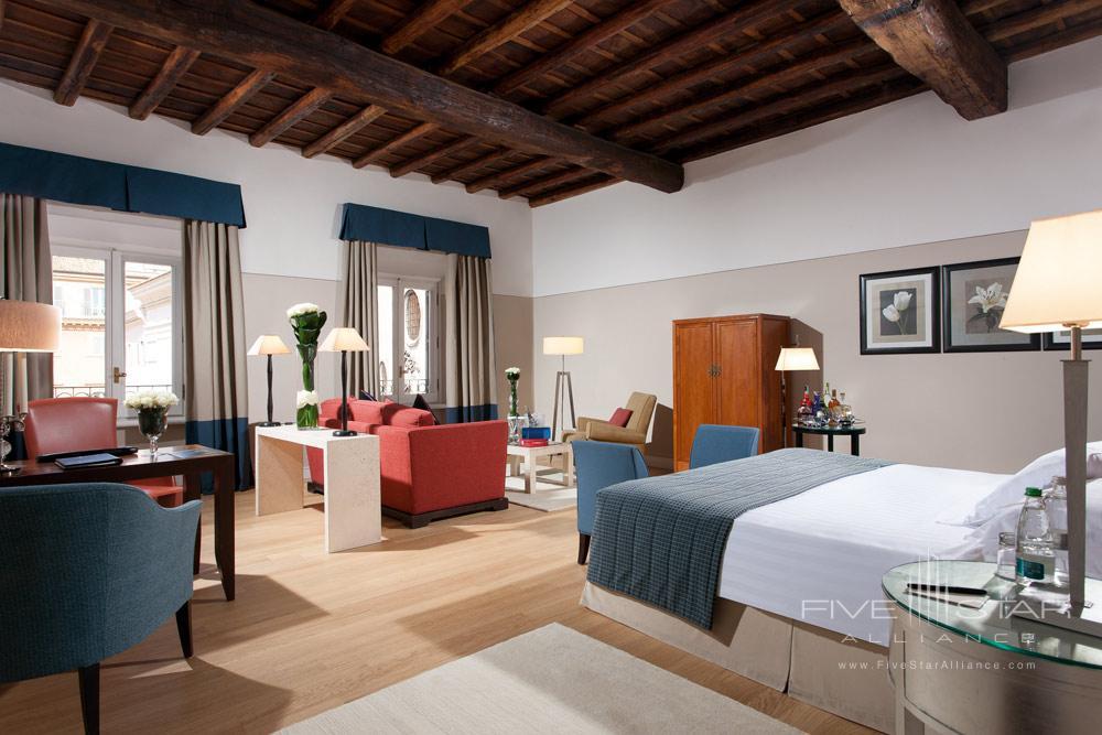 Gran Deluxe Room at Grand Hotel de la MinerveRome Italy