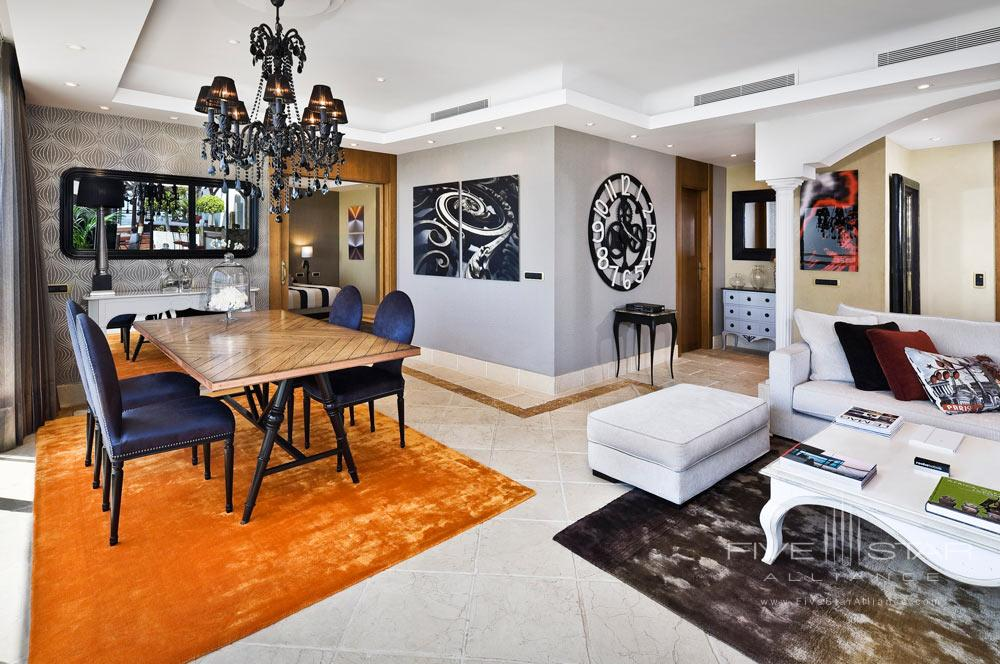 Suite Lounge at Gran Melia Don PepeSpain