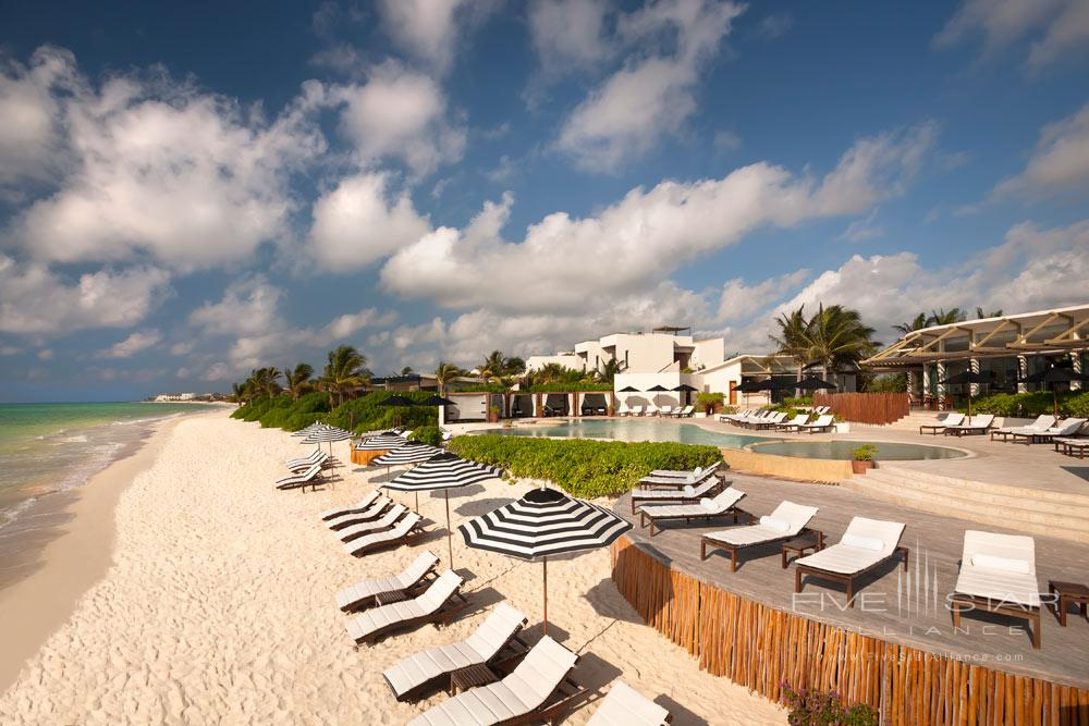 Beach at Rosewood Mayakoba Quintana RooMexico