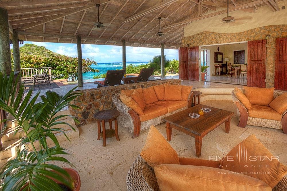 Southern Cross Lounge at Palm Island ResortThe Grenadines