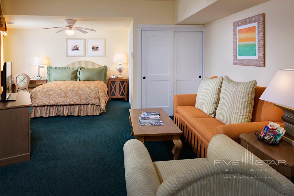 Village view JR suite with kitchenette at Grande Colonial Hotel La JollaCA