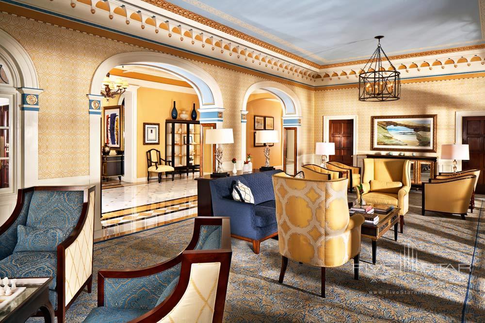 Lobby and Reception at Grande Colonial Hotel La JollaCA
