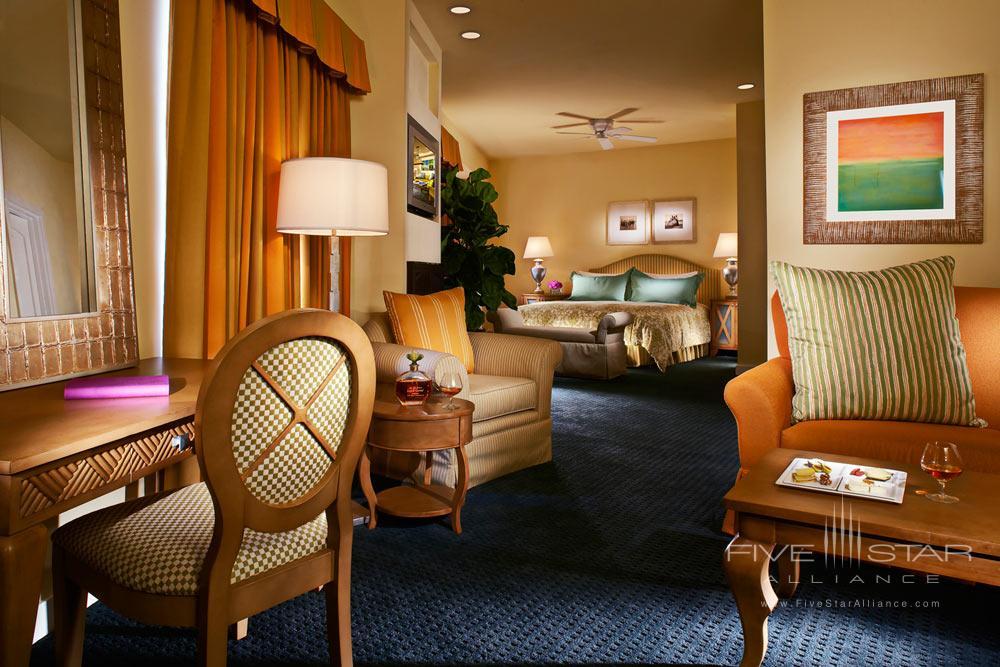 Ocean view JR suite with kitchenette at Grande Colonial Hotel La JollaCA