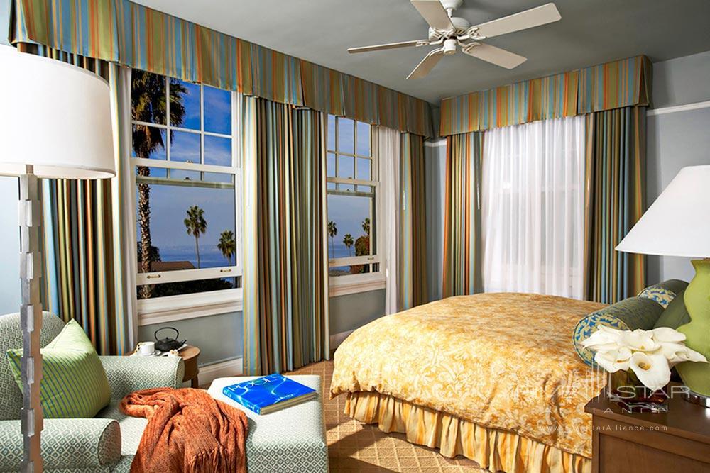 Ocean view JR suite at Grande Colonial Hotel La JollaCA