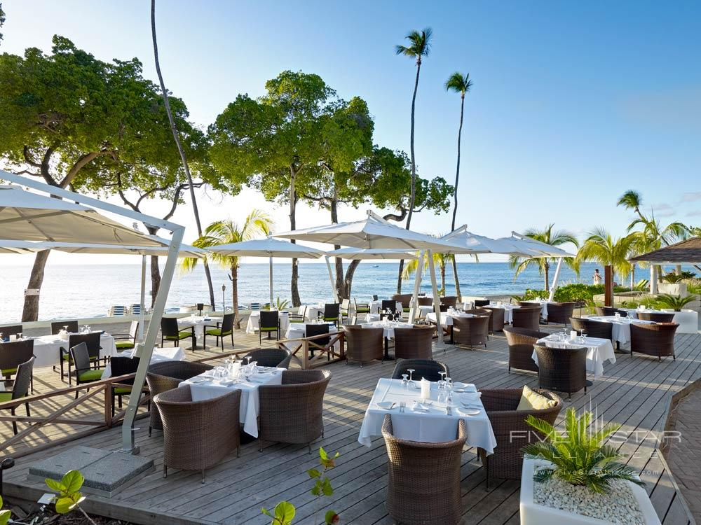 Terrace Dining at Tamarind Cove Hotel St JamesBarbadosWest Indies