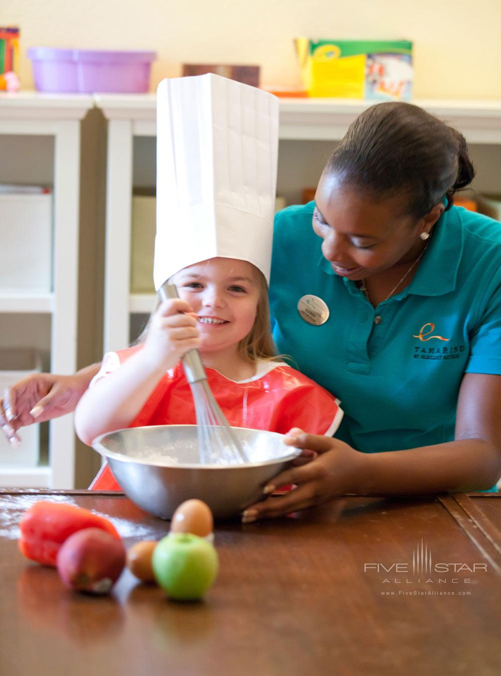 Kids Club Cooking Class at Tamarind Cove Hotel St JamesBarbadosWest Indies