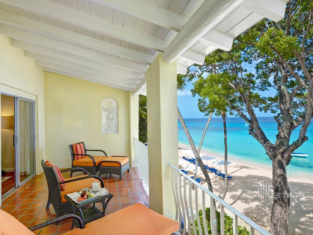 Ocean Front Balcony at Tamarind Cove Hotel St JamesBarbadosWest Indies