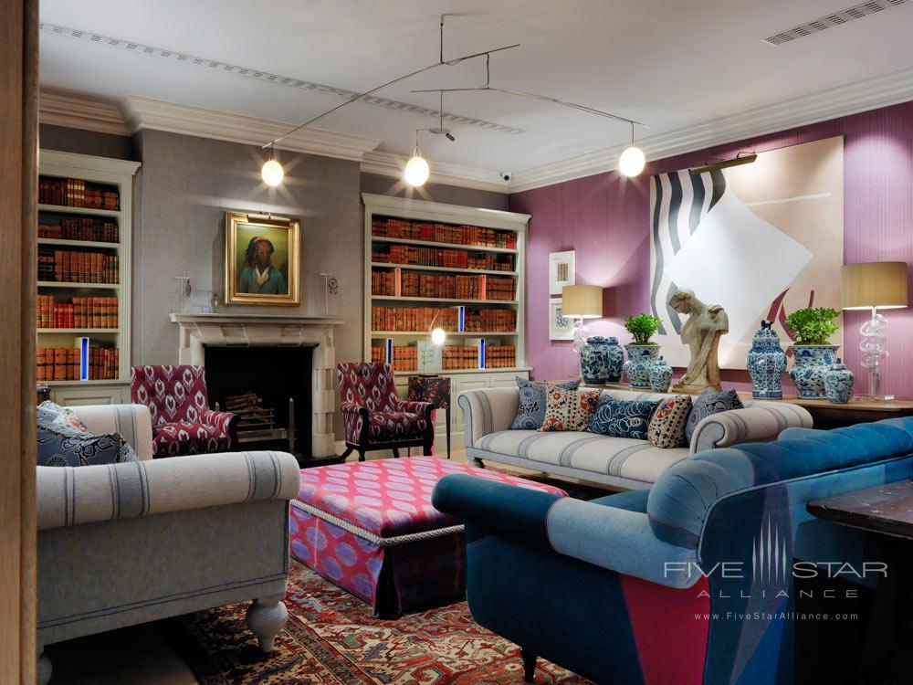 p Library at Haymarket Hotel, London, United Kingdom&nbsp p