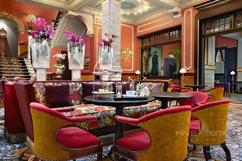 Reception and Lounge at Hotel Des IndesThe HagueNetherlands
