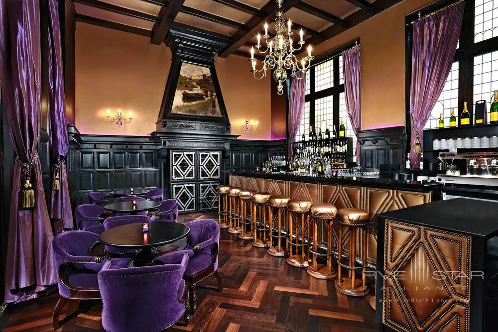 Bar and Lounge at Hotel Des IndesThe HagueNetherlands