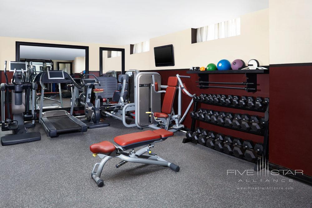Fitness Center at Hotel Des IndesThe HagueNetherlands