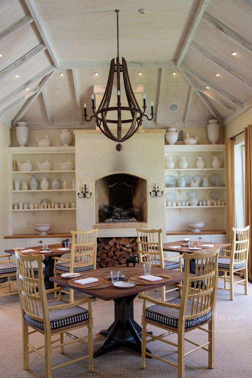The Farm at Cape Kidnappers Dining Area