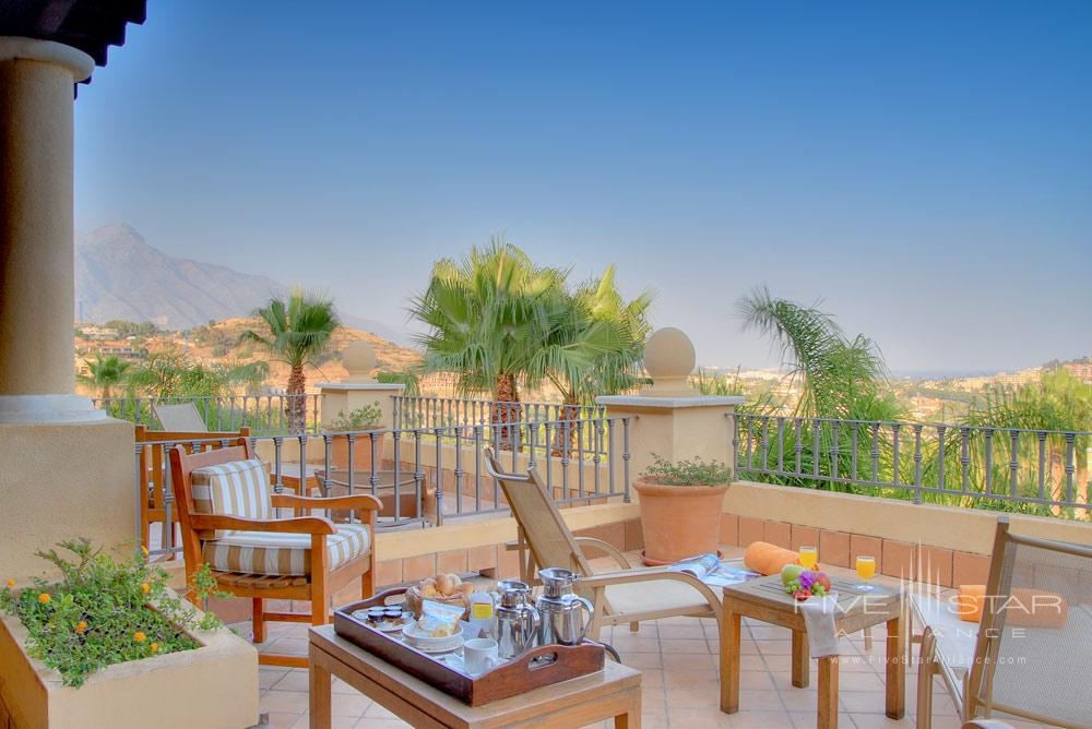 Terrace Lounge at Westin La Quinta Golf and SPAMarbellaSpain