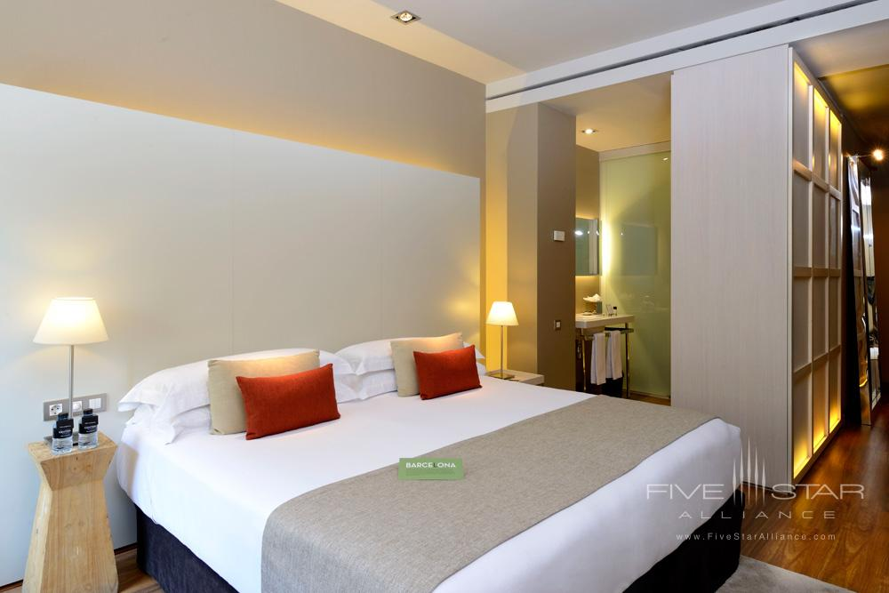 Superior King RoomGrand Hotel Central Barcelona