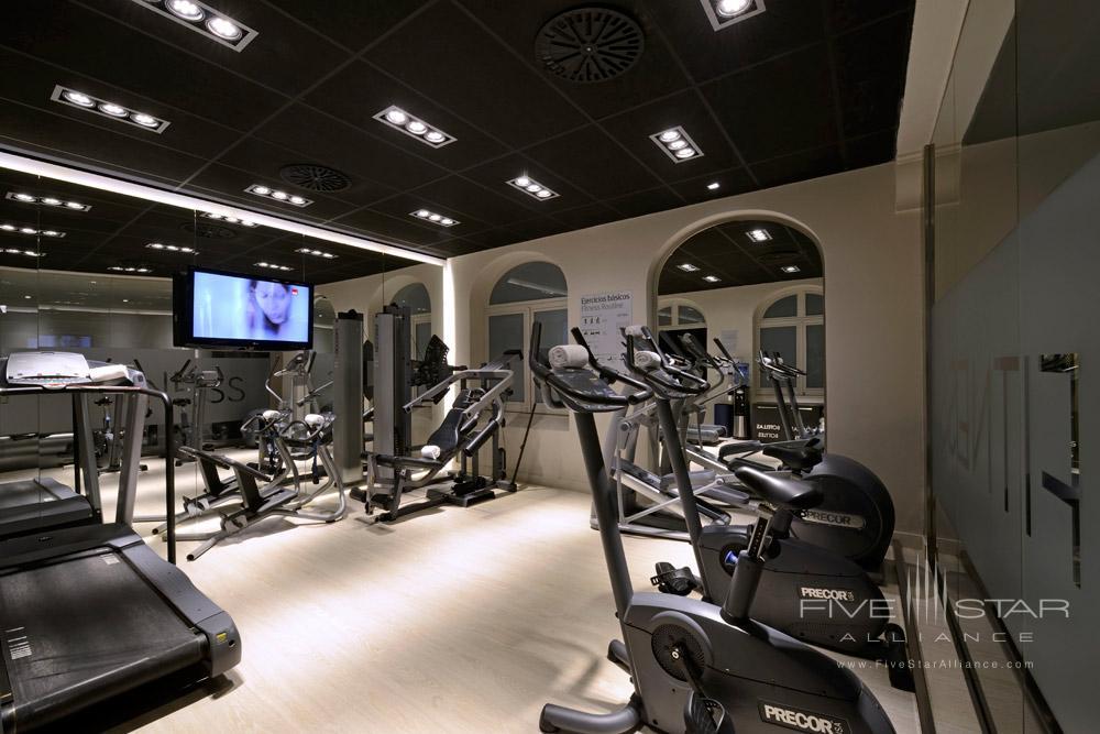 Fitness Center, Grand Hotel Central Barcelona
