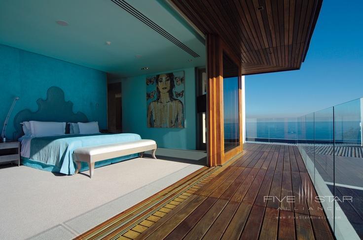 The Aqua Room of the contemporary Ellerman Villa.