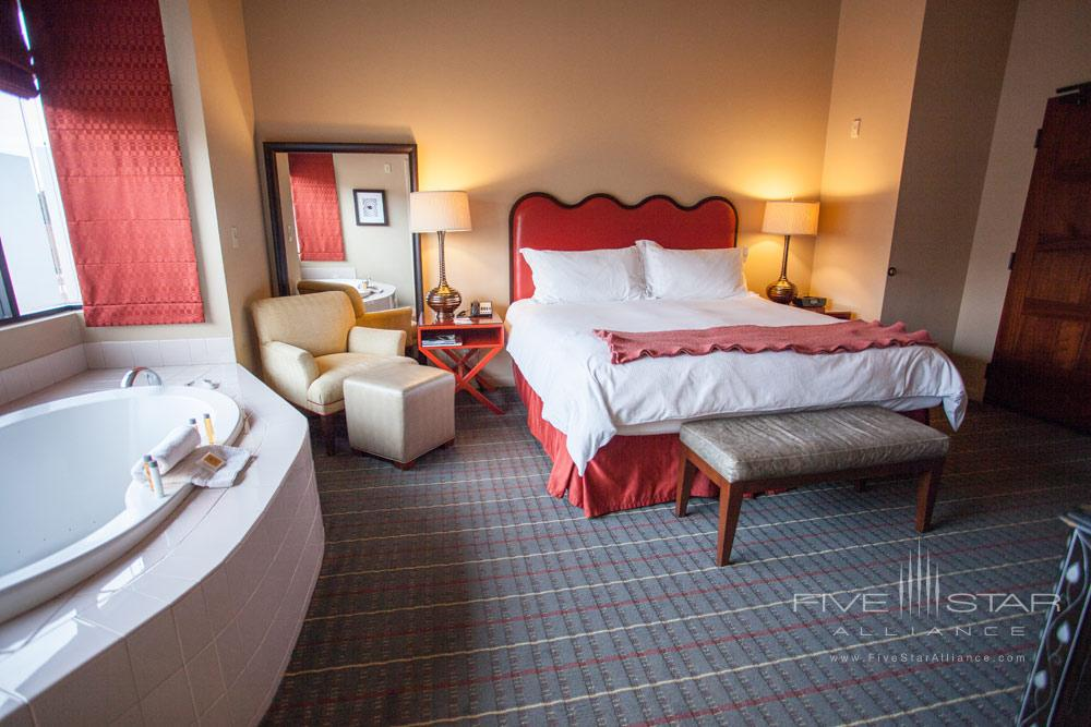 Guestroom with Jacuzzi tub at Sedona Rouge Hotel and SpaAZ
