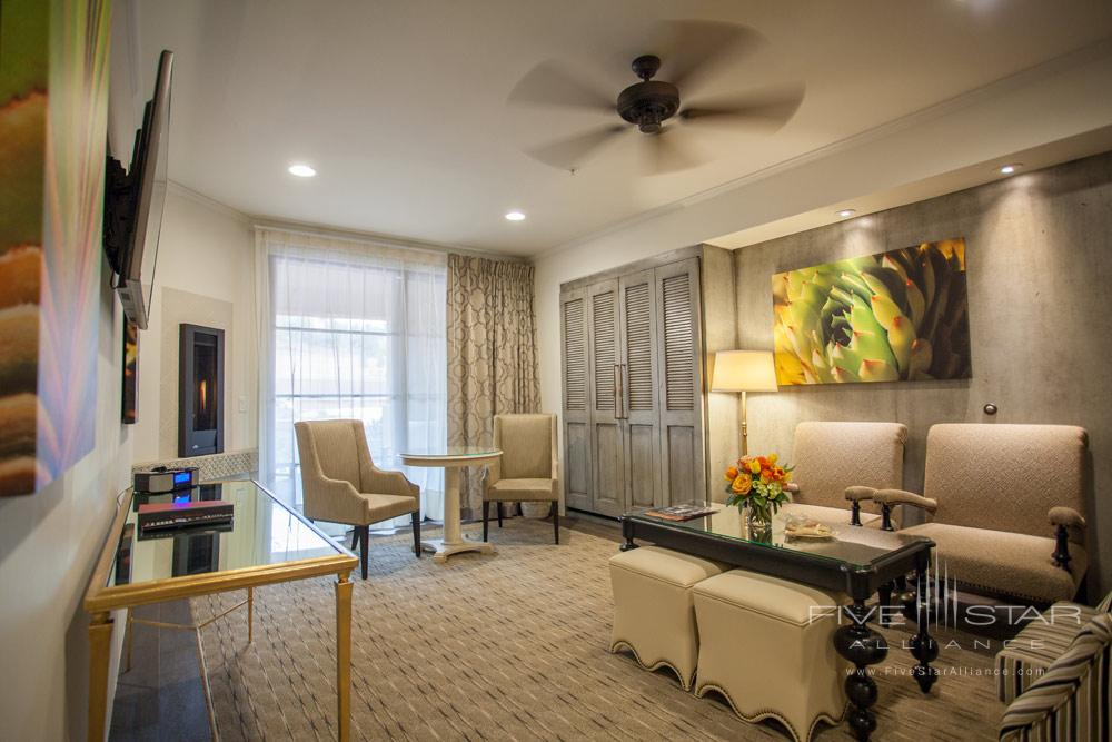 Suite Living Area at Sedona Rouge Hotel and SpaAZ