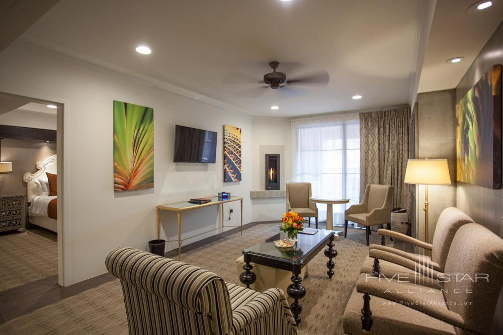 Suite Living Room at Sedona Rouge Hotel and SpaAZ