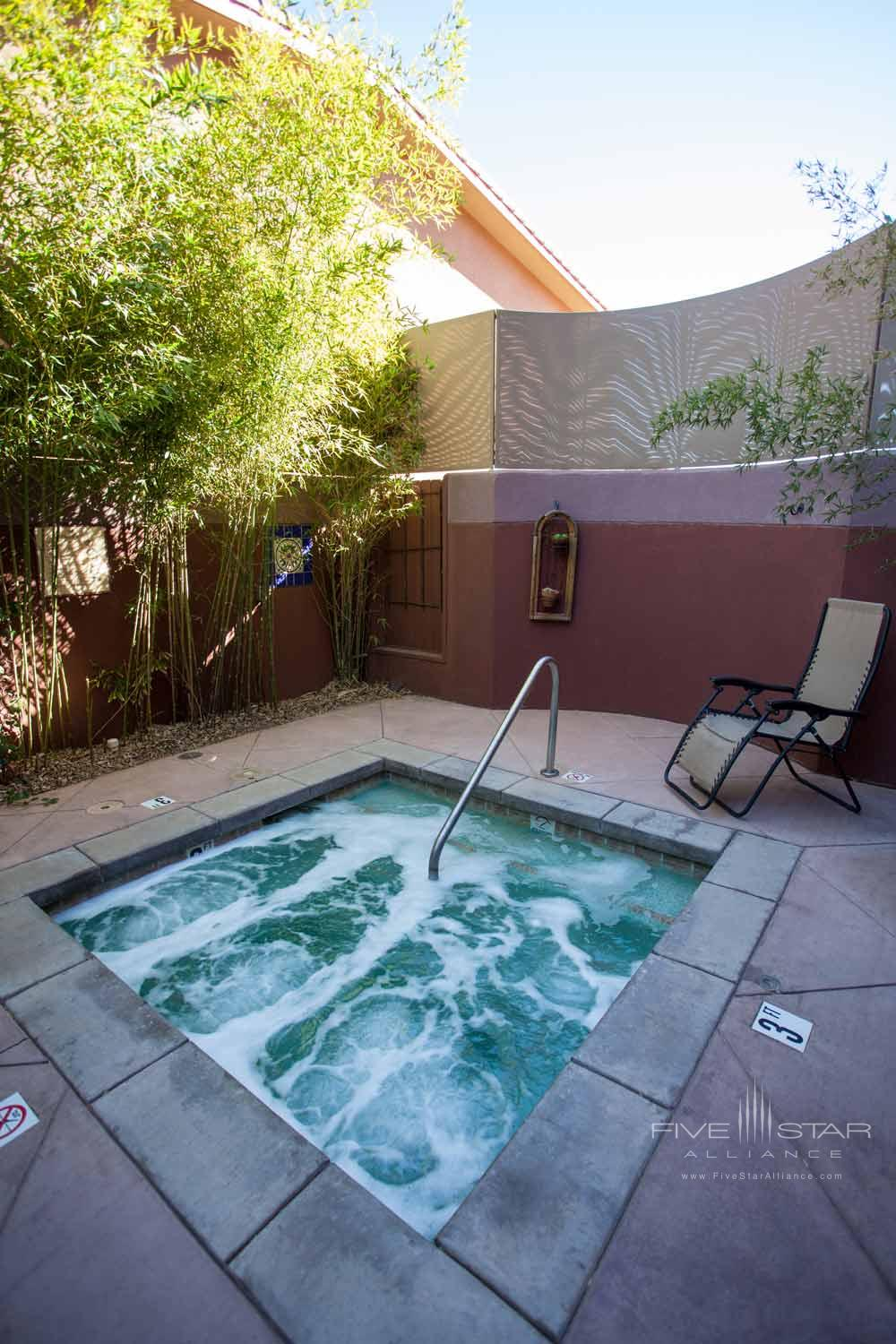 Jacuzzi at Sedona Rouge Hotel and SpaAZ