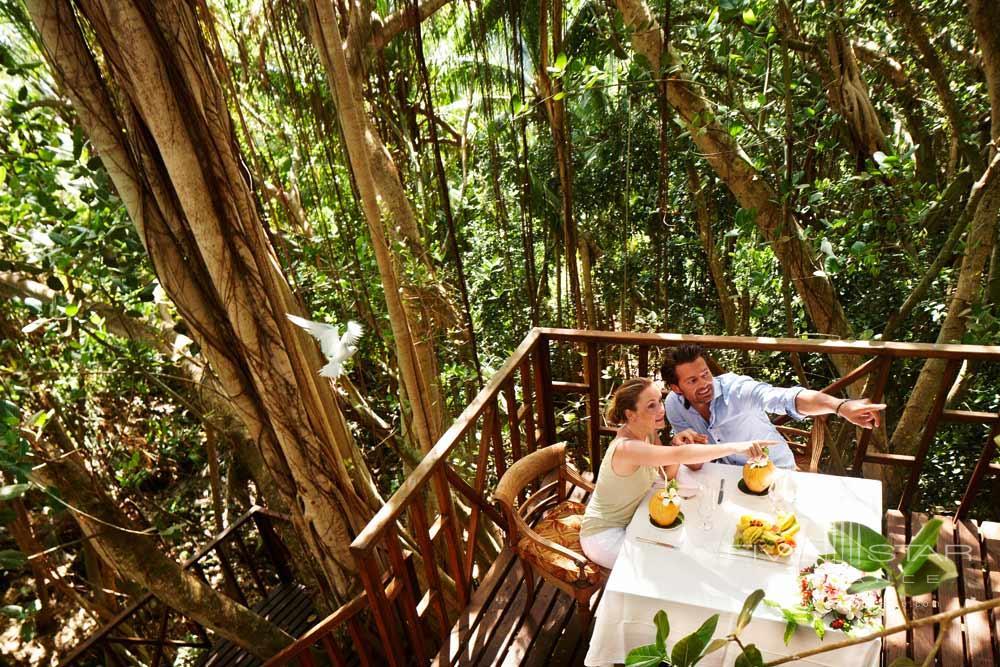 Nature Dining at Fregate Island Private Seychelles Fregate IslandSeychelles