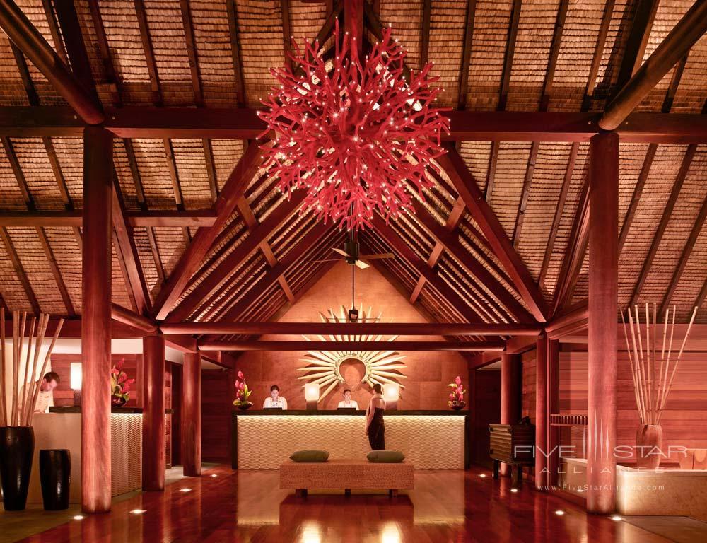 Reception atFour Seasons Resort Bora BoraFrench Polynesia