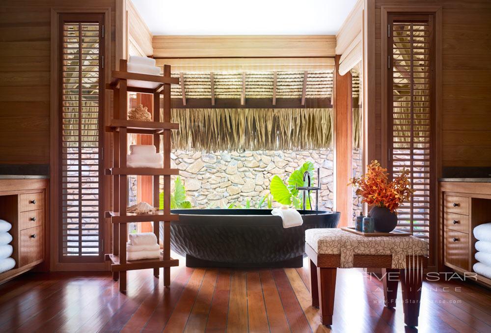 Tub atFour Seasons Resort Bora BoraFrench Polynesia