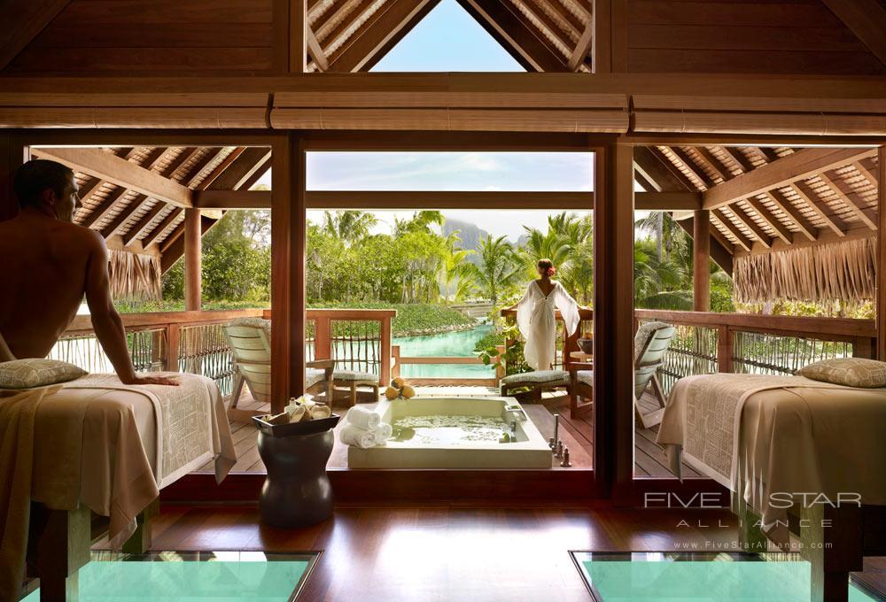 Spa atFour Seasons Resort Bora BoraFrench Polynesia