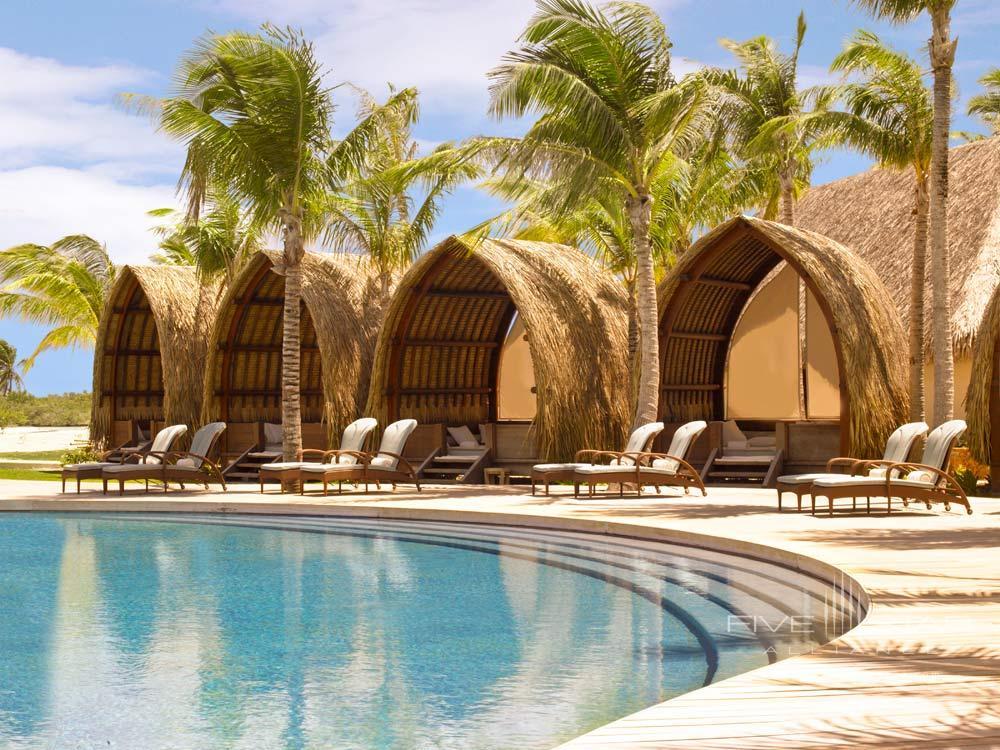 Pool at Four Seasons Resort Bora BoraFrench Polynesia