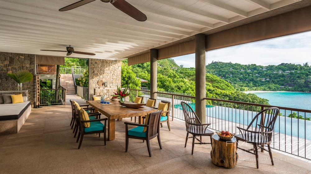 Terrace Lounge at Four Seasons Resort Seychelles