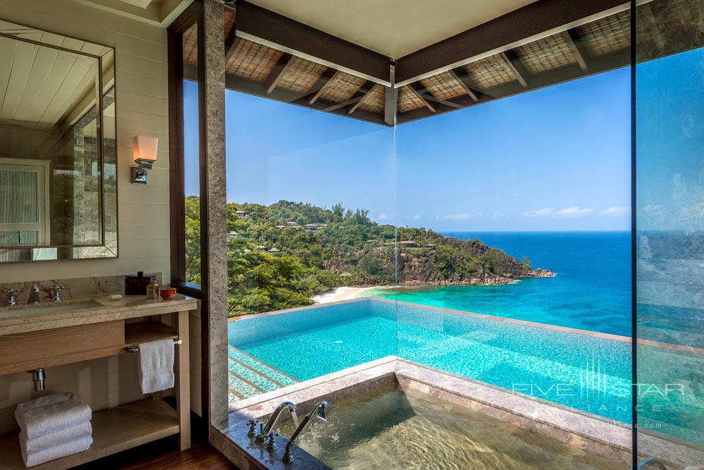 Pool at Four Seasons Resort Seychelles