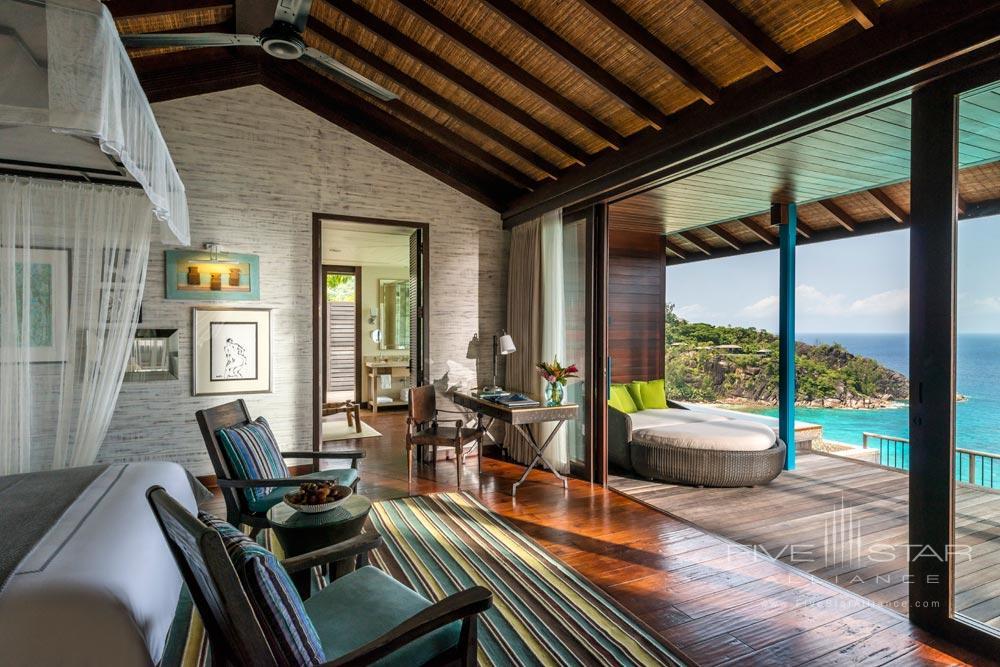 Guestroom at Four Seasons Resort Seychelles