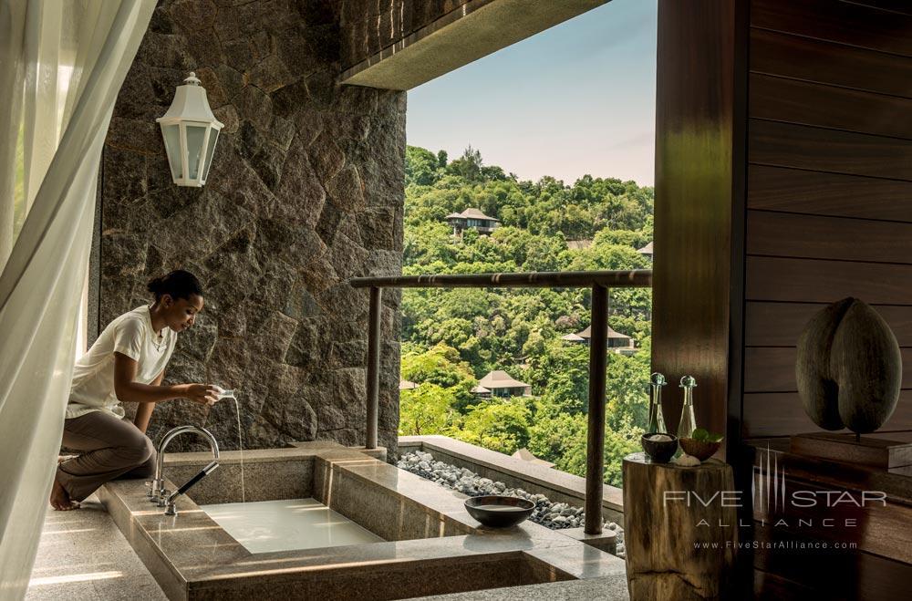 Accomodation at Four Seasons Resort Seychelles