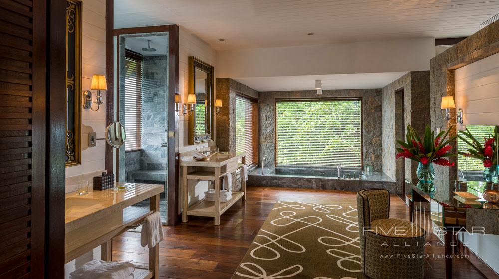 Guest Bathroom at Four Seasons Resort Seychelles