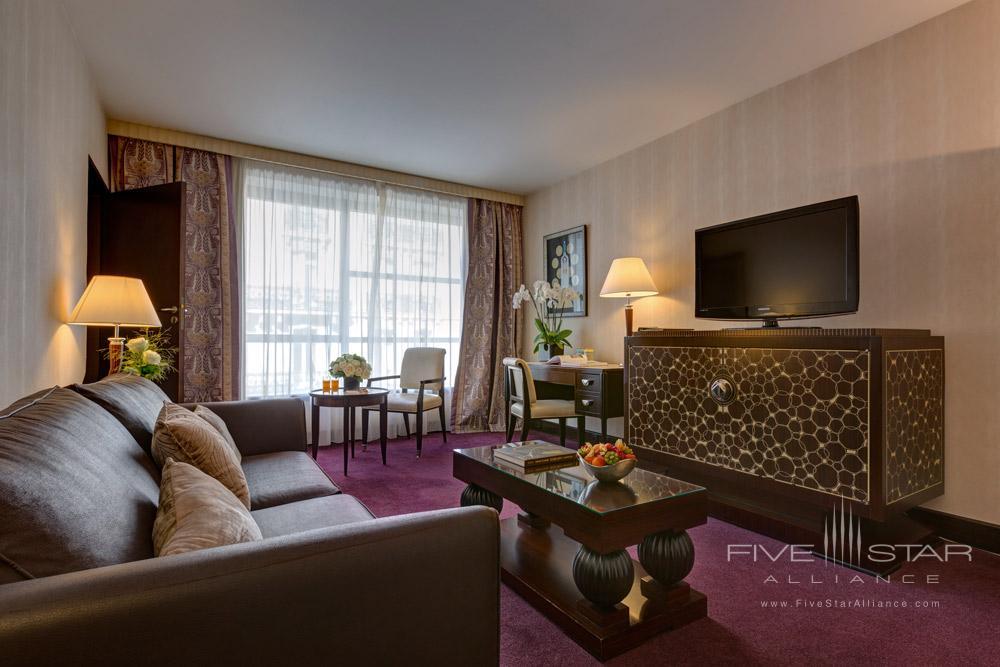 Suite Living at The Hotel du Collectionneur Arc de Triomphe ParisFrance