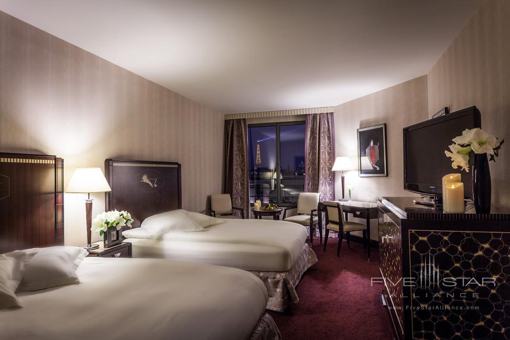 Double Guest Room at The Hotel du Collectionneur Arc de Triomphe ParisFrance