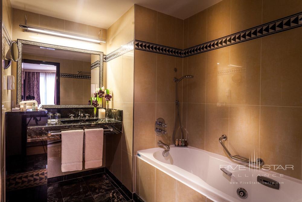 Superior Guest Bath at The Hotel du Collectionneur Arc de Triomphe ParisFrance
