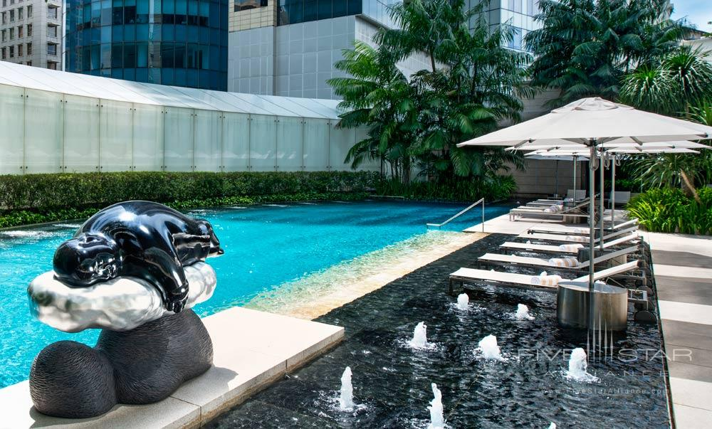 Tropical Spa And Pool At The St Regis Singapore